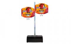 Двойной баскетбольный щит на подставке