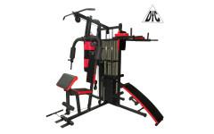 Силовой комплекс, брусья, скамья для пресса, бокс.мешок DFC D7005