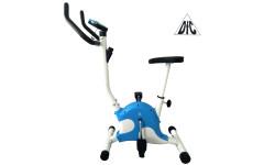 Велотренажер  Dfc Vt-8013 белый/голубой