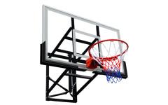 Баскетбольный щит DFC 136x80см поликарбонат BOARD54P (два короба)
