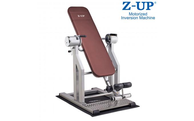 Инверсионный стол Z-Up 5, 220b, Корея, серебряная рама,  коричневая спинка