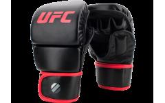 Перчатки MMA для спарринга 8 унций (Черные L/XL) UFC