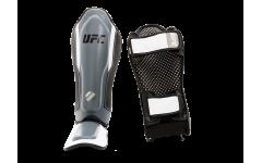 Защита голени с защитой подъема стопы (Серая - L/XL) UFC