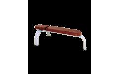Скамья горизонтальная Bronze Gym H-036 (коричневый)